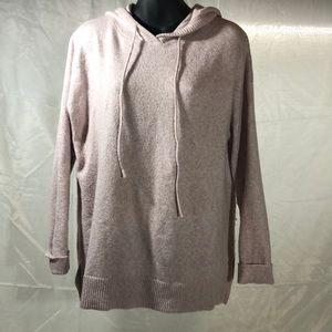 Light pink hooded sweater